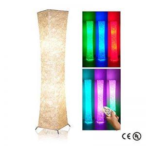 LEONC Creative Lampadaire RGB Changement de Couleur LED Tyvek Tissu Ombre Dimmable Télécommande SALON DESIGN LAMPE DE PLANCHER Lampadaire Salon Lampe (Général) de la marque LEONC image 0 produit