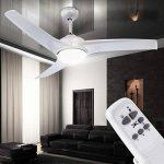 Les ventilateurs de plafond avec la lumière ventilateur lampe lumière globo primo 0305 de la marque Globo image 1 produit