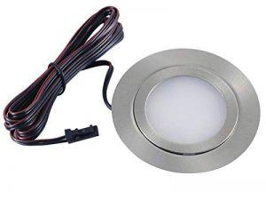 Leuchten Plat Meubles Leuchten Spot LED encastrable Slim 3W 5050SMD Blanc Chaud 3000K Ultra Plat Solo individuellement de la marque vislux image 0 produit