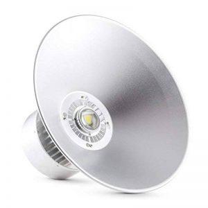 Lightcraft High Bright - Projecteur LED industriel haute performance pour travaux, rénovations, chantiers, sport. (50W, montage plafond possible, construction aluminium légère) de la marque LIGHTCRAFT image 0 produit