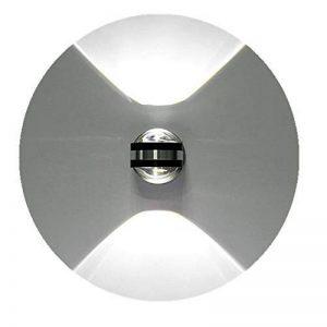 Lightess Applique Murale Eclairage Intérieur 6W LED Lampe Murale Lumière Murale pour Décoration des Chambre Salon Bureau Salle de Bain en Aluminium - Blanc Froid de la marque SISVIV image 0 produit