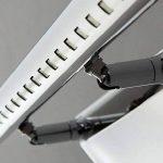 Lightess Lampe pour Miroir et Tableau Applique Murale salle de bain 9W LED avec Interrupteur en Acier inoxydable pour Salle de Bain Miroir - Blanc Froid de la marque Lightess image 2 produit