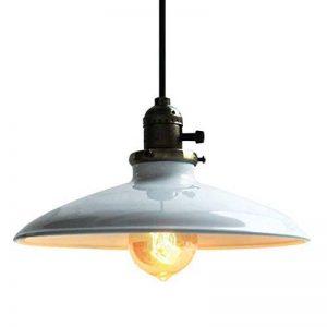 Lightess Luminaire Suspension Vintage Rétro E27 Style Industrial en Métal DIY Installation pour éclairage Cuisine Salle à manger Salon de la marque Lightess image 0 produit