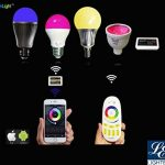 LIGHTEU, 7W 4 fils RGBW Rail Tracklight avec , Wifi RGBW smart conduit lumière de piste, plafond sans fil plafonnier rail conduit, contrôlé via télécommande RF, ou smartphone avec un hub wifi (vendu séparément) de la marque LIGHTEU image 4 produit