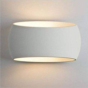 LightHub E27 Up Down Plâtre Luminaire Design Spots Applique Murale Angle Interieur pour chambre, Couloir, entrée, bureau, salon, escalier - Blanc de la marque lighthub image 0 produit