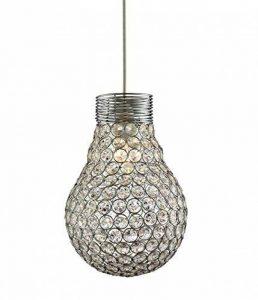 Lighting Collection 700040 Suspension non électrifiée en forme d'ampoule Chromé 60 W de la marque Lighting Collection image 0 produit