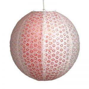 Lighting Web Suspension boule en papier Motif dentelle Fushia 40,5 cm de la marque Lighting Web Company image 0 produit