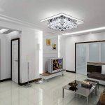 LightinTheBox® Flush Mont Ampoule LED Crystal compris Chandelier Modern Contemporary Salon Salle à manger Chambre Couloir Métal de la marque LightInTheBox image 2 produit