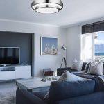 LightInTheBox® Plafonnier LED rond 880Lumens 15W 3000K blanc neutre–IP44salle de bain plafonnier Ø 30cm de la marque LightInTheBox image 1 produit