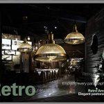Lightsjoy Suspensionen Verre et Métal Luminaire Industrielle Lustre Design Vintage Rétro Eclairage Pendant Antique Plafonnier Eclairage de Plafond [Classe énergétique A++] de la marque Lightsjoy image 1 produit