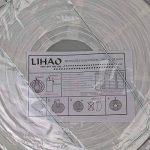 """LIHAO 10""""(25cm) Lampion Papier Lanterne Papier Boule Blanc pour Décoration de Mariage, Maison, Noël, Fête etc.(Lot de 10pcs) de la marque LIHAO image 3 produit"""