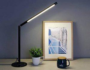 LIHAO Lampe de Bureau, 5W Lampe de Table LED à Intensité Réglable 48 SMDs Blanc Chaud de la marque LIHAO image 0 produit
