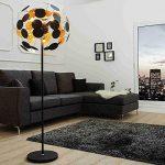 Living art24de Lampe design Lampadaire Finito Noir/doré de la marque LivingArt24de image 1 produit