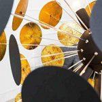 Living art24de Lampe design Lampadaire Finito Noir/doré de la marque LivingArt24de image 4 produit