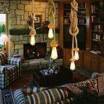 Lixada AC 220V E27 Vintage Style Rustique Luminaire Rétro Lampe Suspension en Corde pour Restaurant Bar Cafe Lighting Utilisation ( double douille, ampoule n'est pas inclus,longueur marquee = deux cables plus ) de la marque Lixada image 2 produit