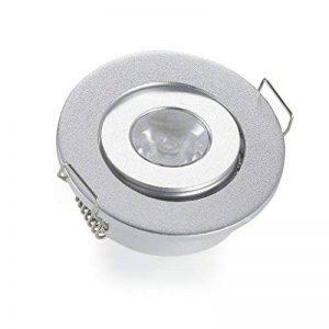 Lot de 1Mini Petit plafonnier/Spot encastrable LED Plafond Spot encastré Lampe 3W blanc chaud 3000K + DRIVER de la marque JOYINLED image 0 produit