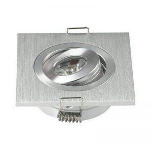 Lot de 103W Mini Kit Spot LED encastrable carré réglable Armoire Lampes Blanc froid de la marque JOYINLED image 0 produit
