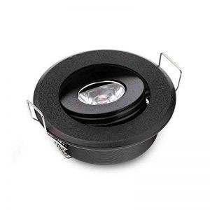 Lot de 10mini Mini 3W LED lampe spot LED encastrable plafonnier LED Noir pour Home Armoire de la marque JOYINLED image 0 produit