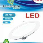 Lot de 10 Spot Encastrable LED Downlight Panel Extra-Plat 3W Blanc Neutre 4200-4500K de la marque LampesEcoEnergie image 1 produit