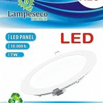 Lot de 10 Spot Encastrable LED Downlight Panel Extra-Plat 7W Blanc Froid 6000K de la marque LampesEcoEnergie image 1 produit
