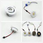 Lot de 10spots encastrés Kit Encastré Plafonnier LED 3W COB 3000K + DRIVER de la marque JOYINLED image 2 produit