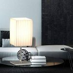Lot de 2 lampes de table bedsitting éclairage de la pièce textile Chrome commutable lampes blanc de la marque etc-shop image 4 produit