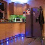 Lot de 20 LED Spot de lampe au sol - RGB/RVB Ø30mm Eclairage Encastrables extérieur pour Terrasse Enterre, IP67 Etanche DC12V Lumière Moderne pour Chemin Escalier Paysage Etape de la marque 7Colors image 2 produit