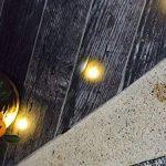 Lot de 20 LED Spot de lampe au sol - RGB/RVB Ø30mm Eclairage Encastrables extérieur pour Terrasse Enterre, IP67 Etanche DC12V Lumière Moderne pour Chemin Escalier Paysage Etape de la marque 7Colors image 3 produit