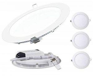 Lot de 3 Spot Encastrable LED Downlight Panel Extra-Plat 3W Blanc Froid 6000K de la marque LampesEcoEnergie image 0 produit