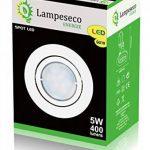 Lot de 35 Spot Led Encastrable Complete Blanc Orientable lumière Blanc Chaud eq. 50W ref.193 de la marque LampesEcoEnergie image 3 produit