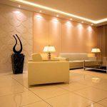 Lot de 6 Ampoules LED Spot Culot GU10, ampoules halogènes 50W, 520lm, 5.5W Blanc Chaud 3000k, éclairage encastré, éclairage sur rail de la marque yohooo image 3 produit