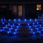 Lot de 6 Lampe de Spot LED Mini Ø18mm Eclairage encastré Inox pour Terrasse Enterré Plafonnier, IP67 Etanche DC12V Lumière Extérieure pour Chemin Escalier Paysage Etape (Bleu) de la marque 7Colors image 1 produit