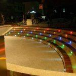 Lot de 6 Spots LED Éclairage extérieur Encastrable, IP67 DC 12V RGB/RVB Acier inoxydable- Décor pour Terrasse Jardin Cour Allée Couloir Lampe de Sécurité de la marque 7Colors image 3 produit