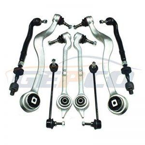 Lot de 8Pièces Jeu de bras de suspension avant de la marque GEPCO Advanced Technology image 0 produit