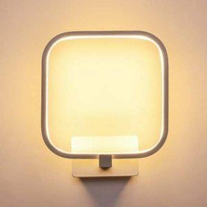 Louvra Applique Murale LED 15W Intérieure Lampe Décorative Moderne Créatif Éclairage Design Lumiaire en Aluminium pour Chambre Maison Couloir Salon - Blanc Chaud de la marque Louvra image 0 produit