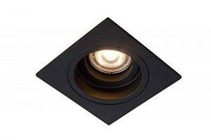 Lucide 22959/01/30 Embed Spot Encastrable, Métal, GU10, 42 W, Noir, 9,1 x 9,1 x 3,7 cm de la marque Lucide image 0 produit