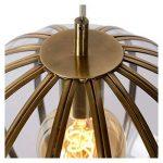 Lucide 25404/40/03 Timius Suspension, Verre, E27, 60 W, Bronze, 40 x 40 x 163 cm de la marque Lucide image 4 produit