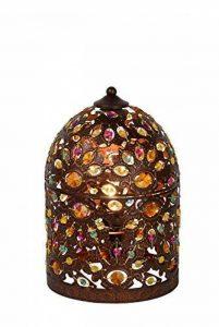 Lucide BYRSA - Lampe De Table - Ø 19 cm - Rouille de la marque Lucide image 0 produit