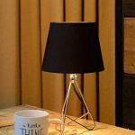 Lucide GITTA - Lampe De Table - Ø 17 cm - Chrome de la marque Lucide image 2 produit