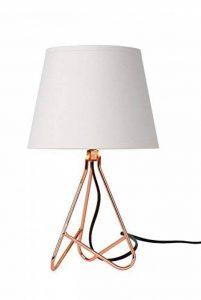 Lucide GITTA - Lampe De Table - Ø 17 cm - Cuivre de la marque Lucide image 0 produit