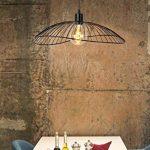 Lucide JING - Suspension - Ø 50 cm - Noir de la marque Lucide image 2 produit