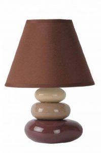 Lucide KARLA - Lampe De Table - Ø 18 cm - Brun de la marque Lucide image 0 produit