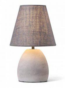 Lucide SOLO - Lampe De Table - Ø 18 cm - Taupe de la marque Lucide image 0 produit