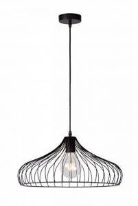 Lucide VINTI - Suspension - Ø 44,5 cm - Noir de la marque Lucide image 0 produit