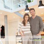 Lumare LED Spot à Encastrer Extra Plat 6W 450lumen 230V IP44 Blanc chaud pour salle de bain et salon Spot rond pièce de bain avec 9 pièce de la marque Lumare image 1 produit