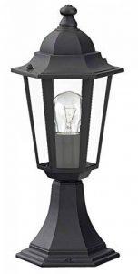 Luminaire Petit Lampadaire Extérieur Lanterne De Jardin Classique Lampe Sur Pied IP43 Noir 2/2/802 de la marque Licht-Erlebnisse image 0 produit