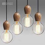 luminaire suspension bois TOP 8 image 3 produit