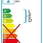 Lunartec Lampe LED avec bras flexible métallique pour fixation murale de la marque Lunartec image 4 produit