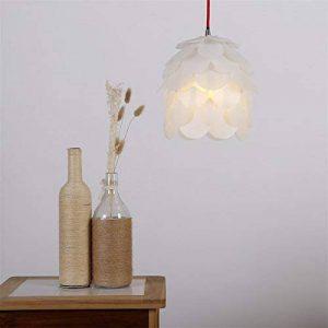 lustre abat jour blanc TOP 10 image 0 produit