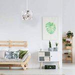 lustre abat jour blanc TOP 6 image 2 produit